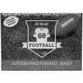 2021 Hit Parade Autographed College Football Jersey - Series 4 - 10-Box Hobby Case - Mahomes & Lawrence!!!