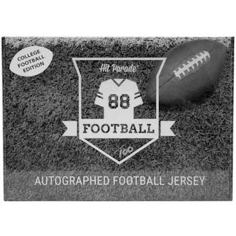 2021 Hit Parade Auto College Football Jersey 1-Box Series 4- DACW Live 8 Spot Random Division Break #1