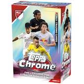 2021 Topps MLS Major League Soccer Chrome 6-Pack Blaster Box