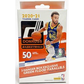 2020/21 Panini Donruss Basketball Hanger Box