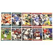 2021 Leaf Pro Set Draft Day 10 Card Football Variant Set - Lawrence!