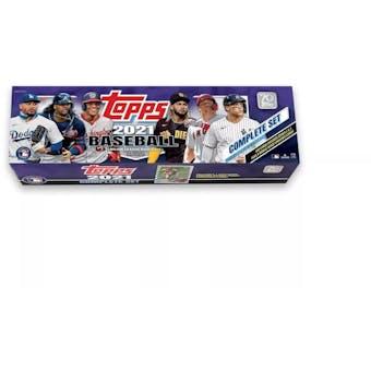 2021 Topps Factory Set Baseball (Box) (Purple) (Target)