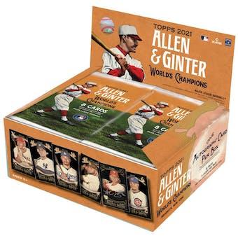 2021 Topps Allen & Ginter X Baseball Hobby Box