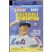 2021 Topps Heritage Baseball Hanger Box (Target)