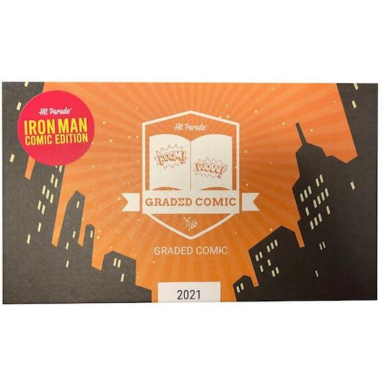 2021 Hit Parade Iron Man Graded Comic Edition Series 1- 1-Box- DACW Live 5 Spot Break #2
