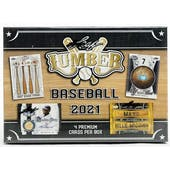 2021 Leaf Lumber Baseball 3-Box- DACW Live 12 Spot Random Hit Break #2
