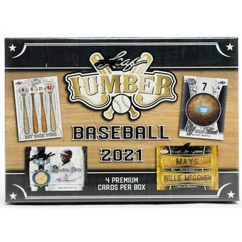 2021 Leaf Lumber Baseball Hobby Box