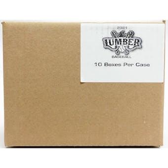 2021 Leaf Lumber Baseball 10-box Hobby Case