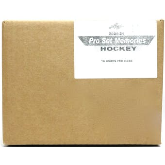 2021 Leaf Pro Set Memories Hockey Hobby 10-Box Case