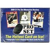 2021 Leaf Pro Set Memories Hockey Hobby Box