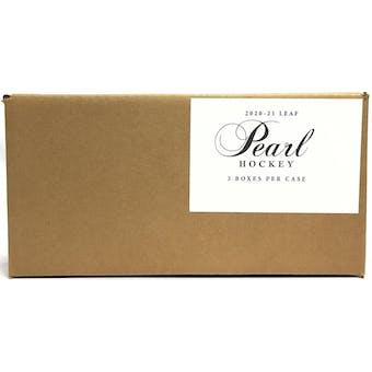 2020/21 Leaf Pearl Hockey Hobby 2-Box Case