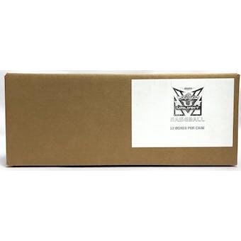 2020 Leaf Valiant Baseball Hobby 12-Box Case
