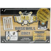 2021 Leaf Lumber Baseball Hobby Ebay Exclusive Box (Crimson Parallels!)
