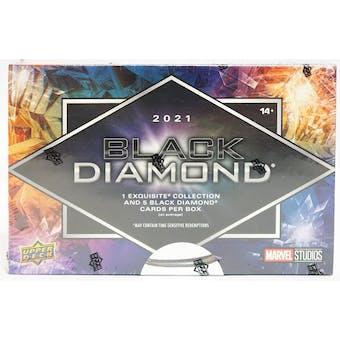 2021 Marvel Black Diamond Trading Cards Hobby 5-Box Case- 2021 National 15 Spot Random Card Break #4