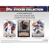 2021 Topps Baseball MLB Sticker Collection Album (Presell)