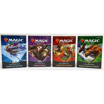 Magic the Gathering 2021 Challenger Deck - Set of 4