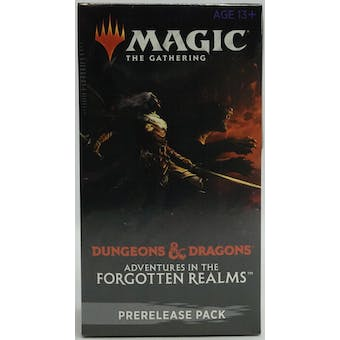 Magic The Gathering Adventures in the Forgotten Realms Pre-Release Kit
