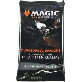 Magic The Gathering Adventures in the Forgotten Realms Draft Booster Pack