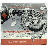 Magic the Gathering Adventures in the Forgotten Realms Collector Booster Box - DACW Live 8 Spot Break #1