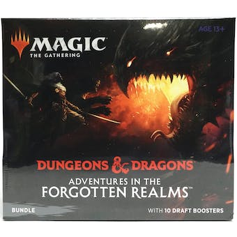 Magic the Gathering Adventures in the Forgotten Realms Bundle Box