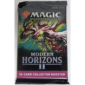 Magic The Gathering Modern Horizons 2 Collector Booster Pack