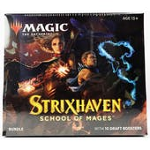 Magic The Gathering Strixhaven: School of Mages Bundle Box