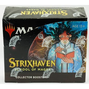 Magic The Gathering Strixhaven: School of Mages Collector Booster Box - DACW Live 8 Spot Break #1