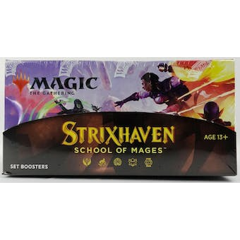 Magic The Gathering Strixhaven: School of Mages Set Booster Box