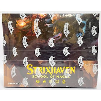 Magic The Gathering Strixhaven: School of Mages Theme Booster Box