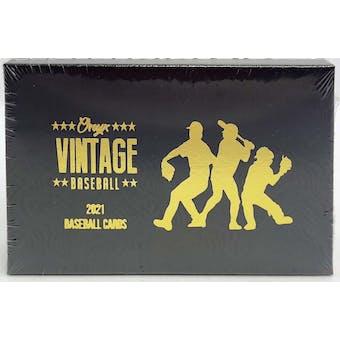 2021 Onyx Vintage Baseball Hobby Box