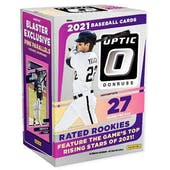 2021 Panini Donruss Optic Baseball 7-Pack Blaster Box (Pink Parallels!)