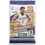 2020/21 Panini Revolution Basketball Hobby Pack