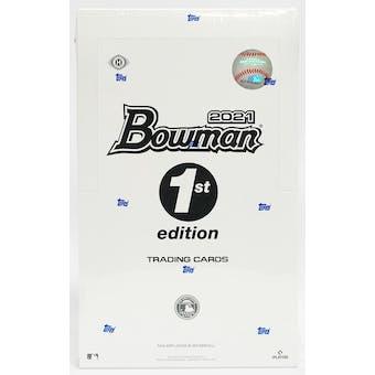 2021 Bowman 1st Edition Baseball Hobby Box