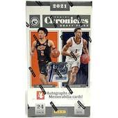 2021/22 Panini Chronicles Draft Picks Basketball 1st Off The Line FOTL Hobby Box