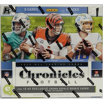 2020 Panini Chronicles Football Hobby Hybrid Box