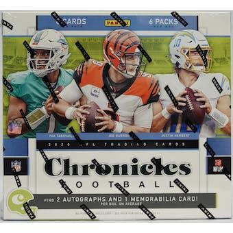 2020 Panini Chronicles Football Hobby Box
