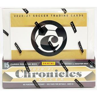2020/21 Panini Chronicles Soccer Hobby Box