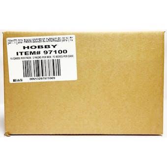 2020/21 Panini Chronicles Soccer Hobby 12-Box Case