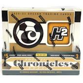 2020/21 Panini Chronicles Soccer H2 Hobby Hybrid Box