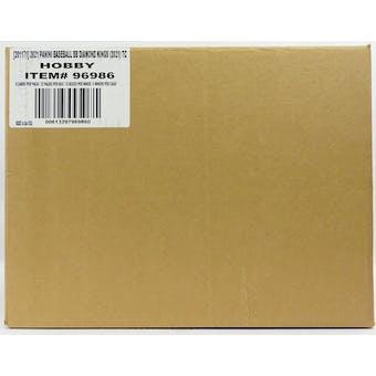 2021 Panini Diamond Kings Baseball Hobby 24-Box Case