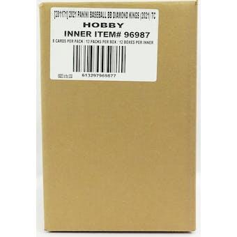 2021 Panini Diamond Kings Baseball Hobby 12-Box Case