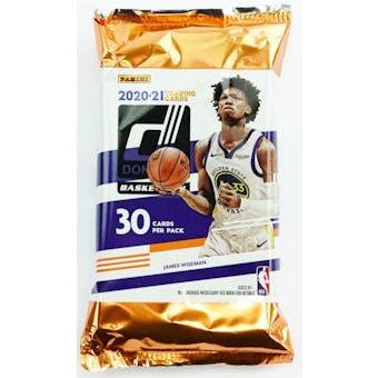 2020/21 Panini Donruss Basketball Hobby Pack