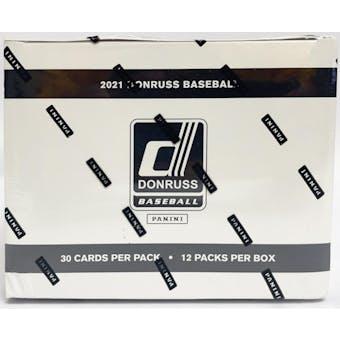 2021 Panini Donruss Baseball Value/Fat Pack Box