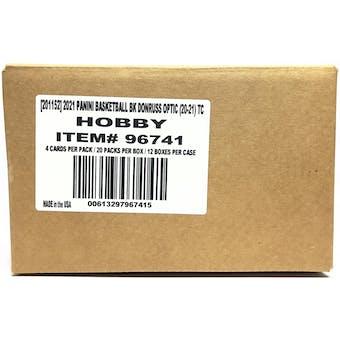 2020/21 Panini Donruss Optic Basketball Hobby 12-Box Case