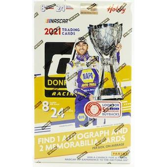 2021 Panini Donruss Racing Hobby Box