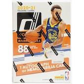 2020/21 Panini Donruss Basketball 11-Pack Blaster Box