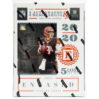 2020 Panini Encased Football 2-Box- DACW Live 8 Spot Random Division Break #1