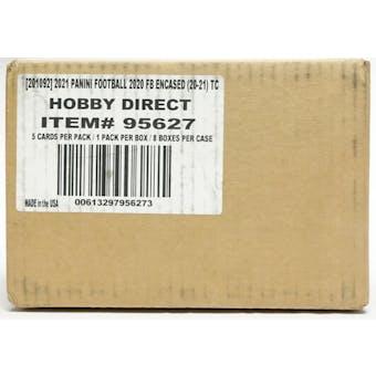 2020 Panini Encased Football Hobby 8-Box Case