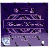 2020 Panini National Treasures Football Hobby 1st Off The Line FOTL Box
