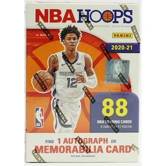 2020/21 Panini NBA Hoops Basketball 11-Pack Blaster Box